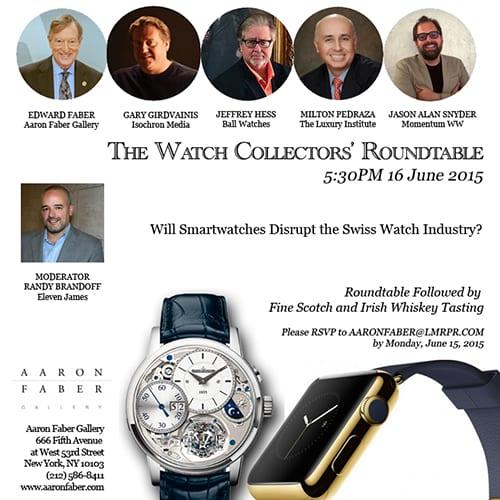 luxury watch roundtable