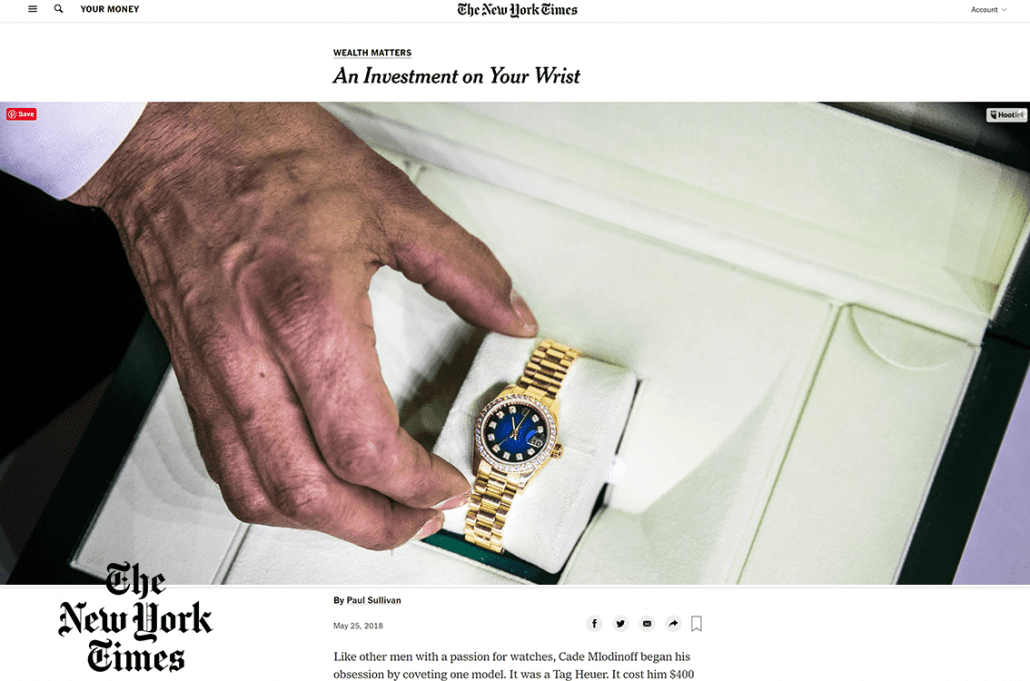 new york times investment
