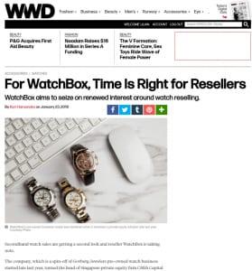 wwd luxury press coverage